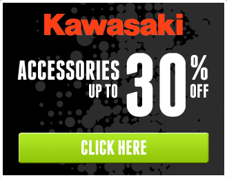 Kawasaki Accessories up to 30% off